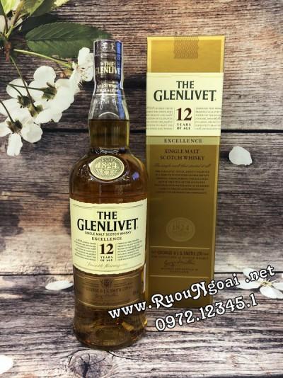 Rượu Glenlivet 12YO