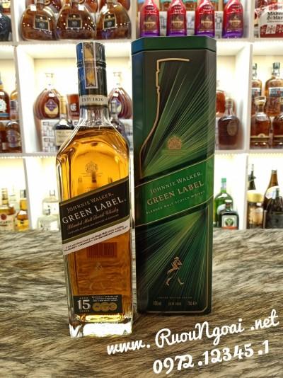 Rượu Johnnie Walker Green Label Tết 2021