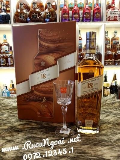 Rượu Johnnie Walker 18 Năm - Hộp Quà Tết 2021