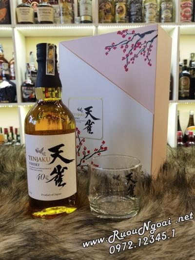 Rượu Whisky Tenjaku - Hộp Quà